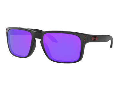 OAKLEY HOLBROOK - Matte Black Red Icon