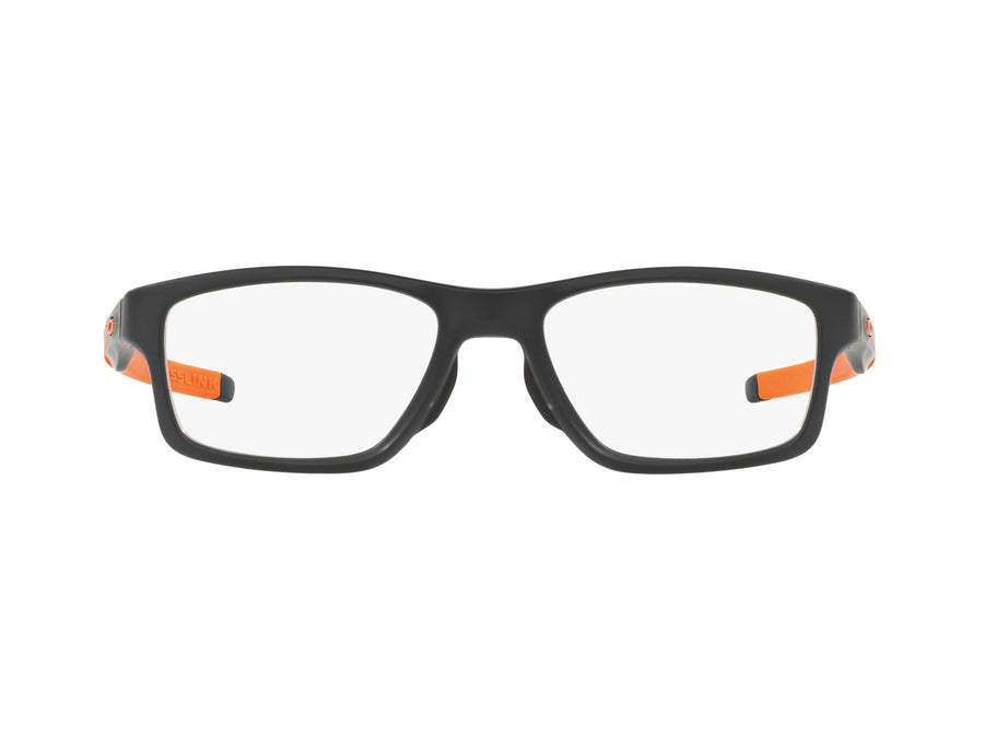 OAKLEY CROSSLINK MNP - Satin Black/Orange