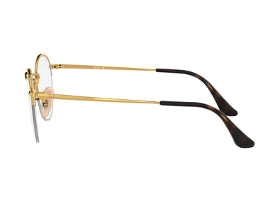 RAY-BAN ROUND GAZE - Gold