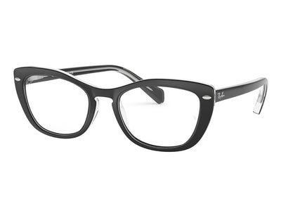 RAY-BAN RB5366 - Black/Transparent