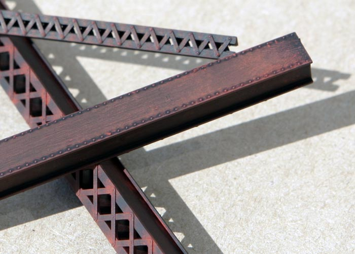 Heavy Duty Laced Girders- HO Scale Kit