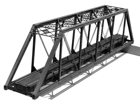 Pratt Truss Bridge - 150'/ Single Track- HO Scale Kit