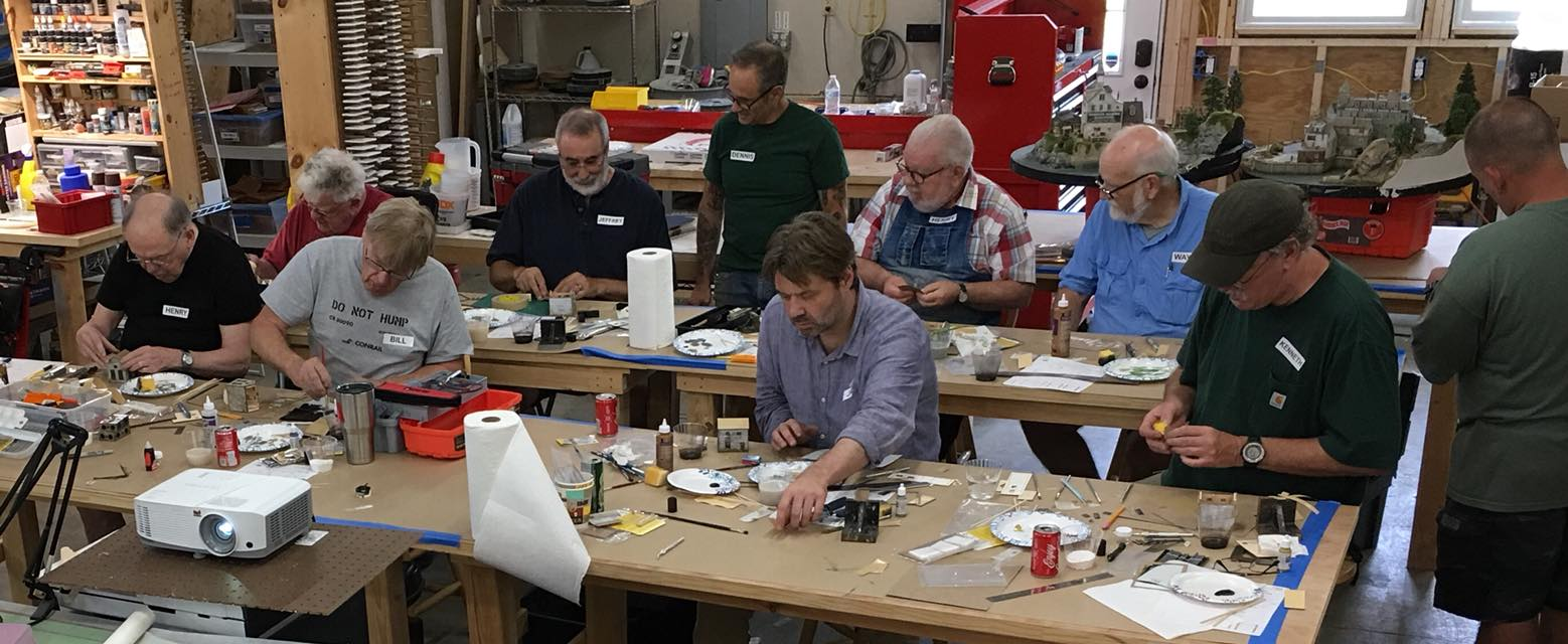 Structure Building Workshop - Saturday July 20th, 2019