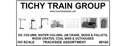 TRACKSIDE ASSORTMENT - HO Scale Kit
