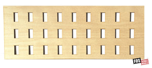 CLAPBOARD WALL SECTION - B207 HO SCALE