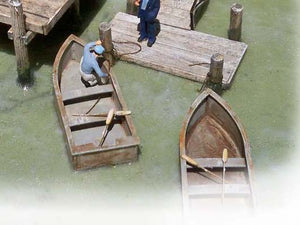 14' Motor Boat - Set of Two HO Scale Kit