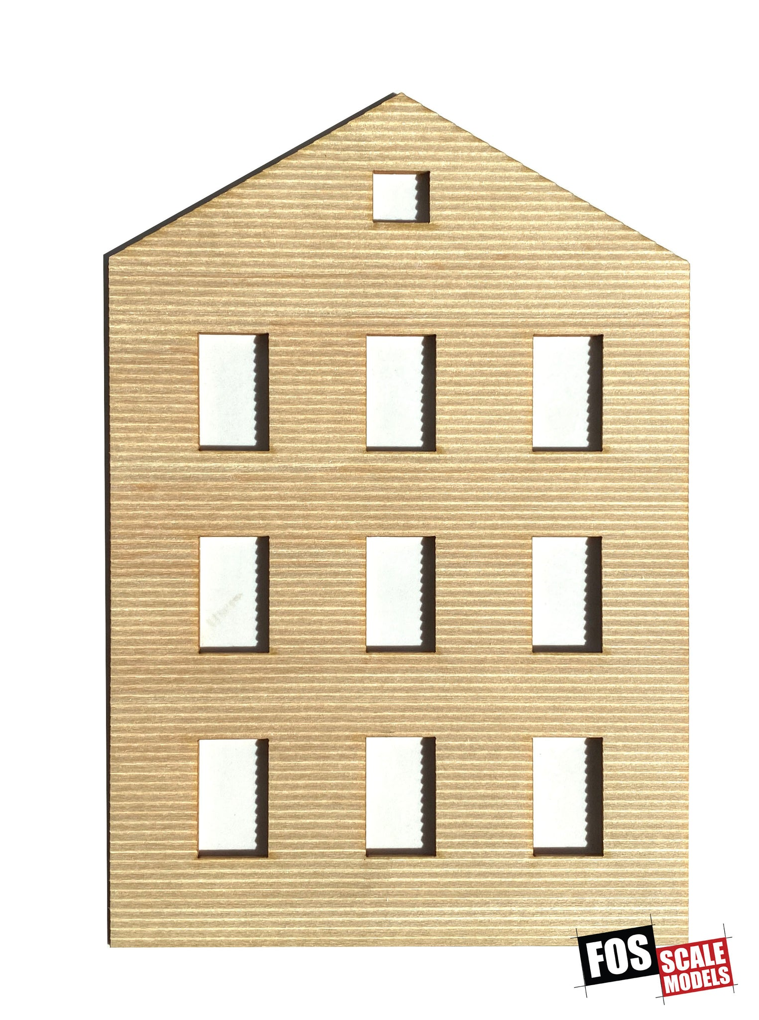 CLAPBOARD WALL SECTION - C101 HO SCALE