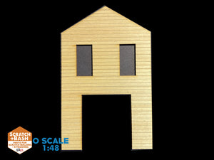 CLAPBOARD WALL SECTION - O SCALE CX101