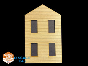 CLAPBOARD WALL SECTION - O SCALE CX102