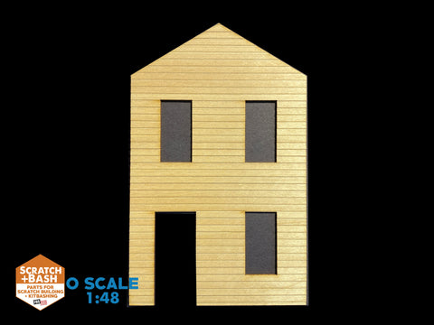 CLAPBOARD WALL SECTION - O SCALE CX103