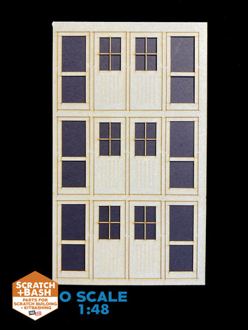 Freight Doors /O SCALE