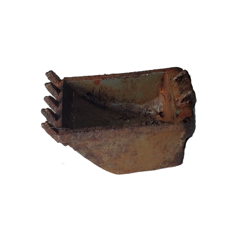 Excavator Bucket - Metal Detail Part HO Scale