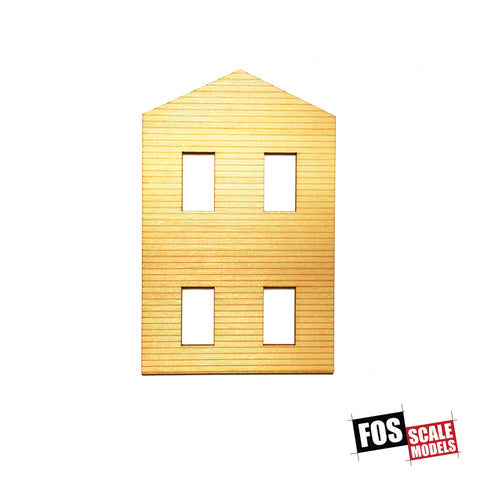 CLAPBOARD WALL SECTION - A 102 HO SCALE