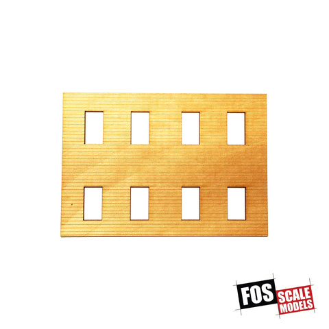 CLAPBOARD WALL SECTION - A 106 HO SCALE