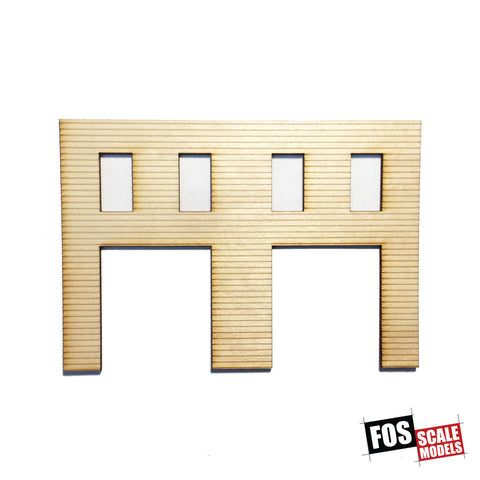 CLAPBOARD WALL SECTION - A 107 HO SCALE