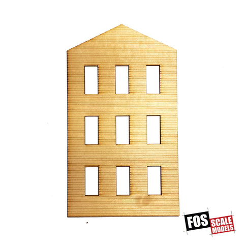 CLAPBOARD WALL SECTION - B 203 HO SCALE