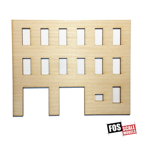 CLAPBOARD WALL SECTION - B 205 HO SCALE