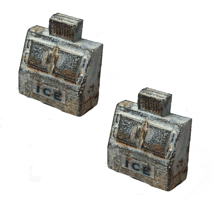 ICE MACHINES - Metal Detail Parts HO Scale