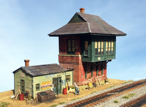Jensen Tower  - HO Scale Kit