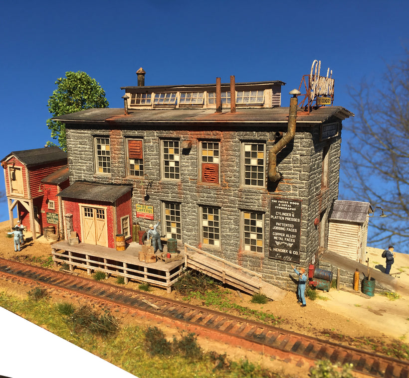 BRICK & MASONRY KITS HO SCALE