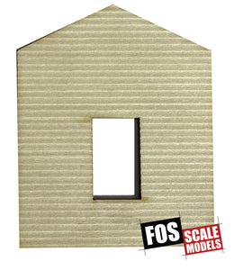 CLAPBOARD WALL SECTION - D102 HO SCALE