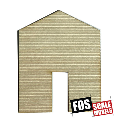 CLAPBOARD WALL SECTION - D103 HO SCALE