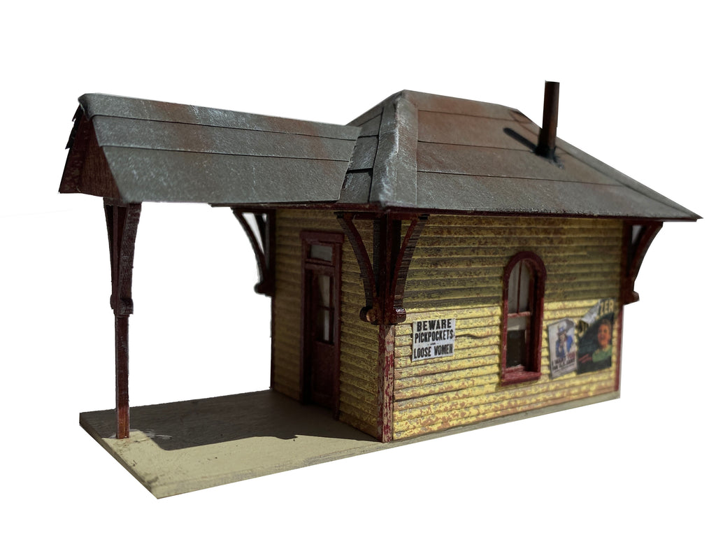Buckley Station - FREE HO Scale Kit Offer!