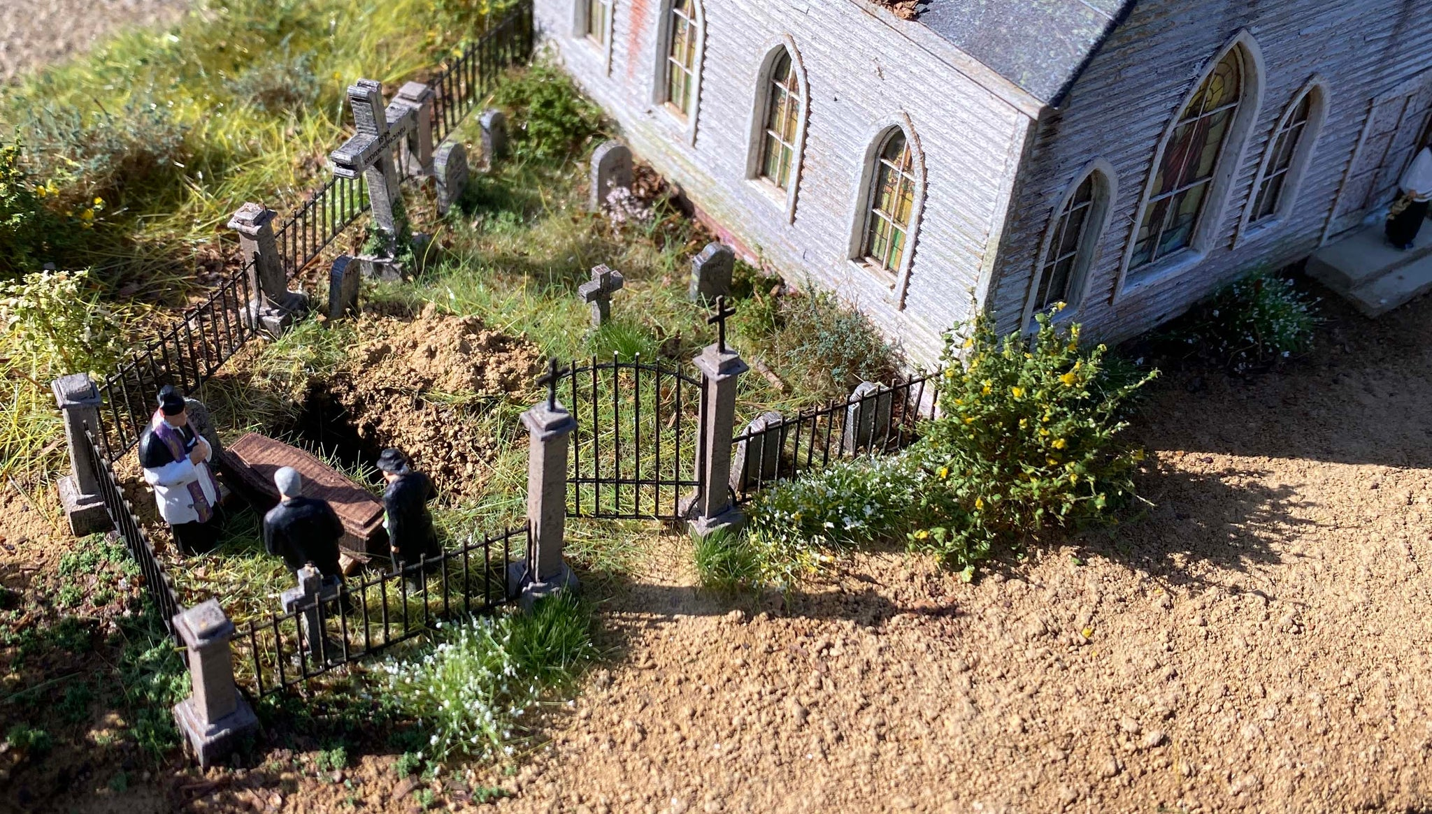 Cemetery Expansion Kit- HO Scale