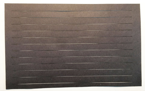 Laser Cut Rolled Roofing Paper - HO Scale (4) Sheets