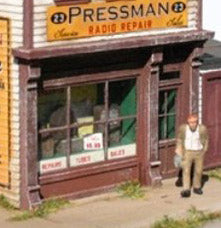 Storefront Kit - HO scale / Set of Two