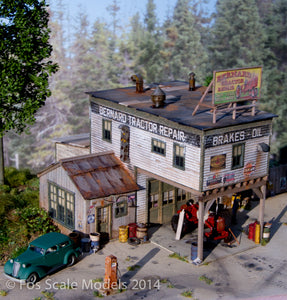 Bernard Tractor Repair HO Scale Kit