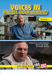Voices in Model Railroading DVD