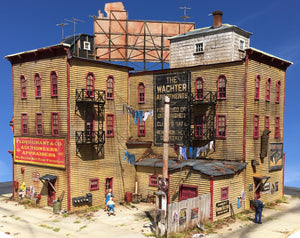 WACHTER APARTMENTS - HO SCALE KIT