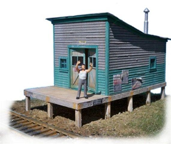 M.O.W. Shed - HO Scale Kit