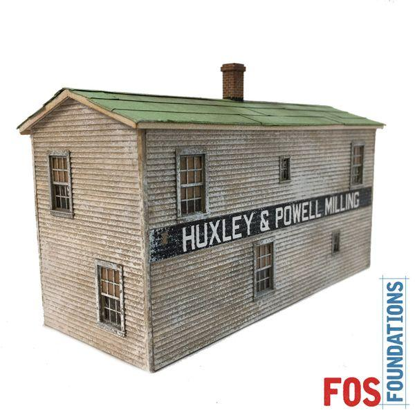 Huxley & Powell Milling - HO Scale Kit