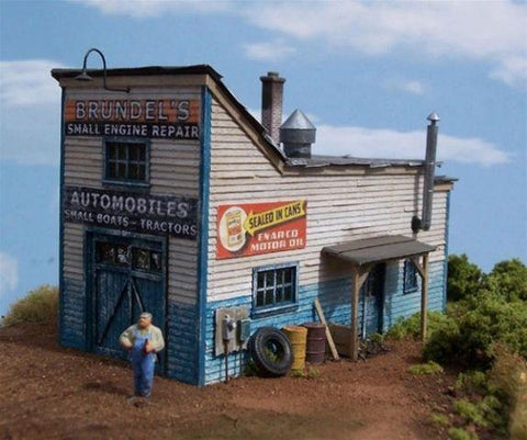 Brundel's Engine Repair - HO Scale Kit