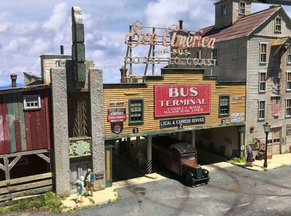 The Terminal - HO Scale Kit
