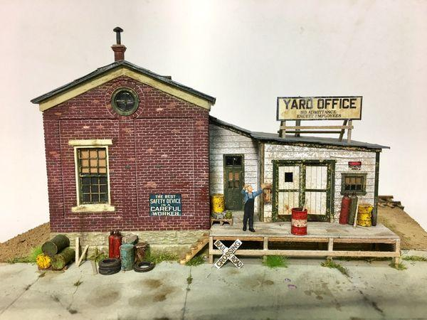 Yard Office Three - HO Scale Kit