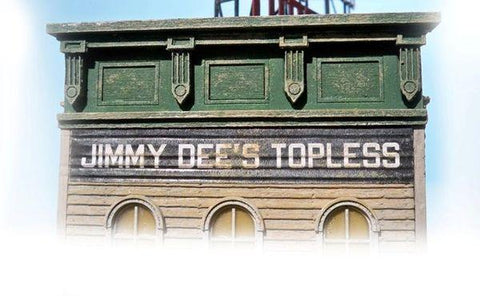 Jimmy Dee's Bar & Grill - HO Scale Kit