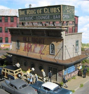 King of Clubs Jazz- HO Scale Kit