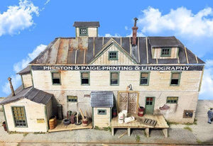 Preston Printing - HO Scale Kit