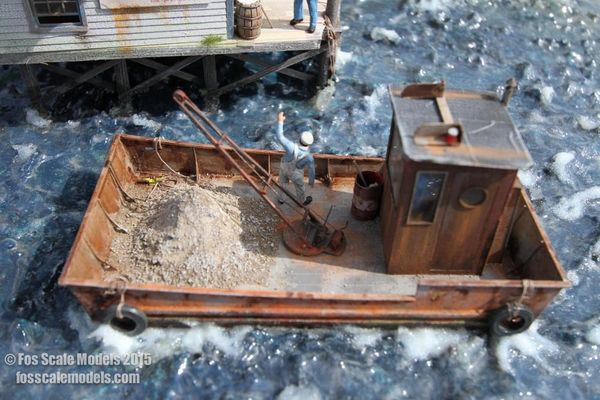 Oyster Skiff - O Scale Kit
