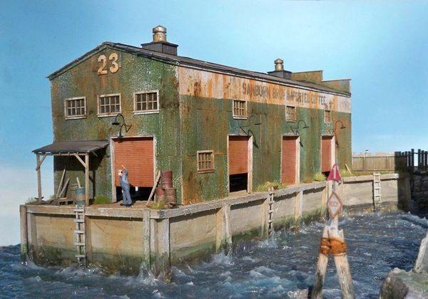 Pier 23 Sanborn Coffee - HO Scale Kit