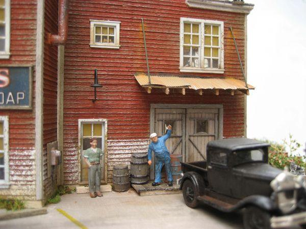 Decker's Tar Soap - HO Scale Kit