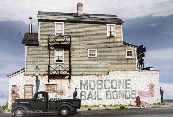 Moscone Bailbonds - HO Scale Kit