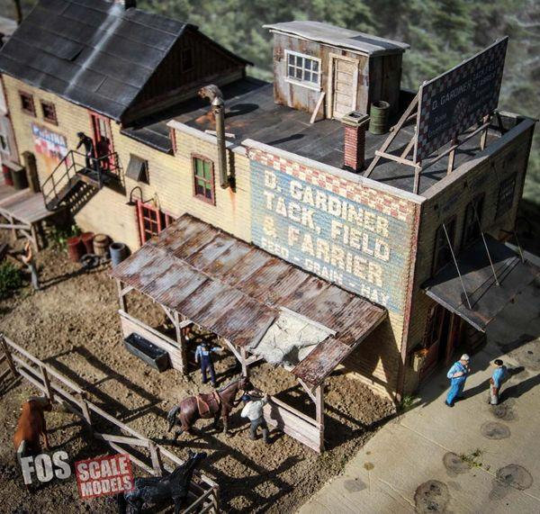 Gardiner's Tack, Field & Farrier - HO Scale Kit