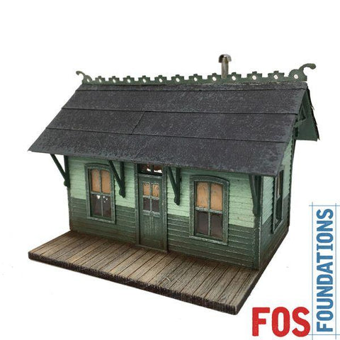 Oakwood Station - HO Scale Kit