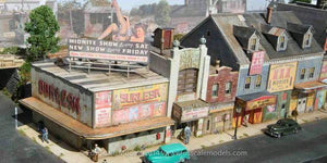 Red Light District - HO Scale Kit