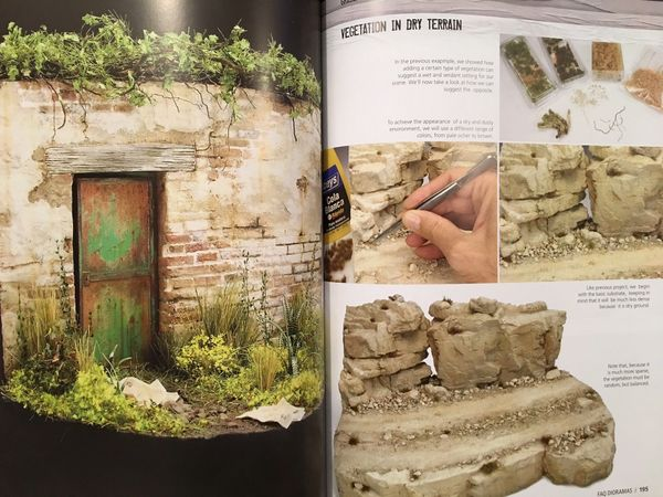 F.A.Q. Dioramas Book - US ORDERS ONLY