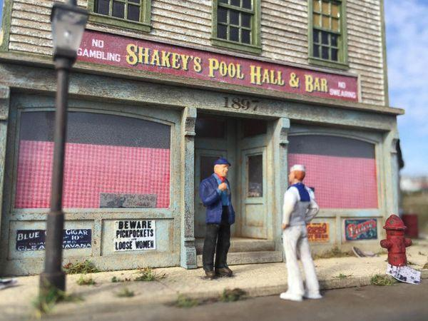 Shakey's Pool Hall - HO Scale Kit